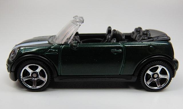 2010 Mini Cooper S Cabrio Gruen Dunkel Streifen Weiss